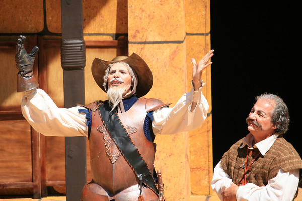 Don Quixote and Sancho Panza - Man of La Mancha, The Mountain Play