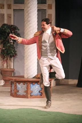 Don Pedro - Much Ado About Nothing, Marin Shakespeare Company