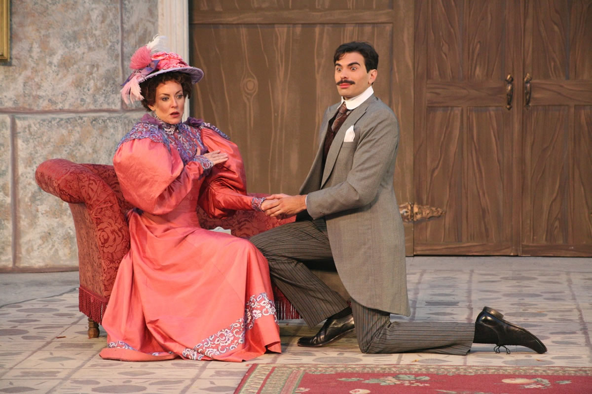 Gwen and Jack - The Importance of Being Earnest, Marin Shakespeare Company