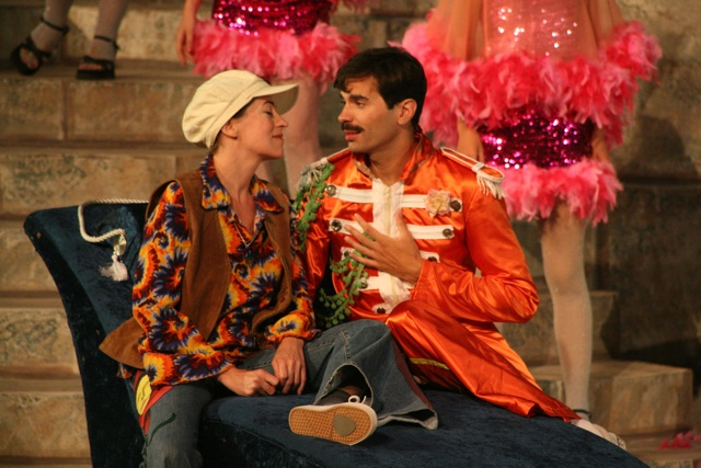 Cesario and Orsino - Twelfth Night, Marin Shakespeare Company