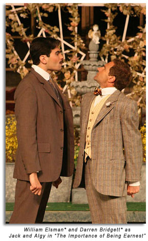 Jack and Algy - The Importance of Being Earnest, Marin Shakespeare Company