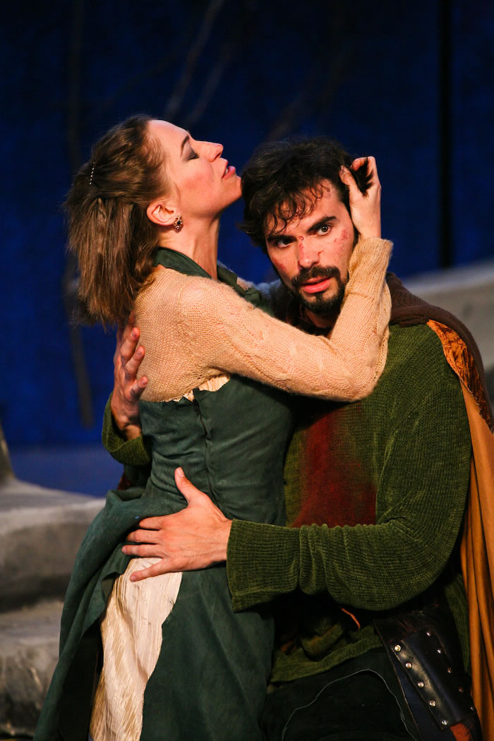 Lady Mac and Mac - Macbeth, Marin Shakespeare Company