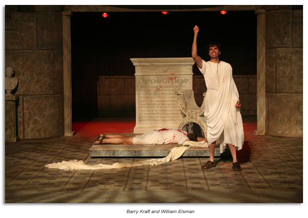 Mark Antony - Julius Caesar, Marin Shakespeare Company