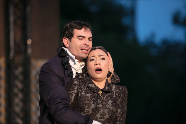 Angelo and Isabel- Measure for Measure, Independent Shakespeare Company